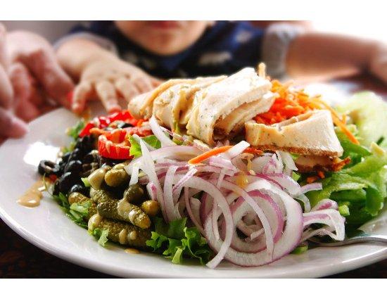 La Sandwicherie : Salad
