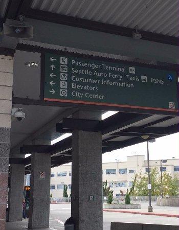 Washington State Ferries: Passenger entry