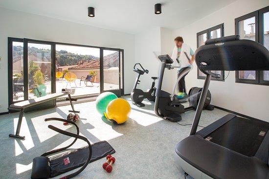 Salle Fitness Picture Of Les Fleurines Villefranche De Rouergue