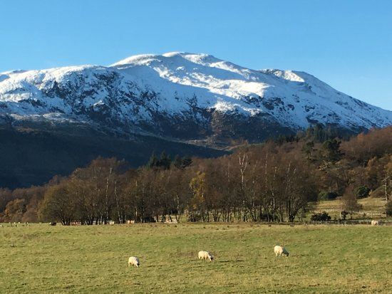 Callander, UK: View to Ben Ledi