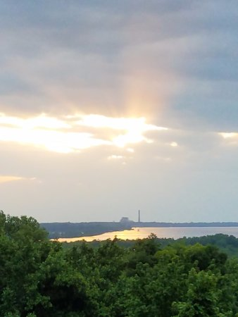 Fort Pillow State Park: The lookout