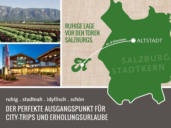 Wals, Austria: Unsere Lage