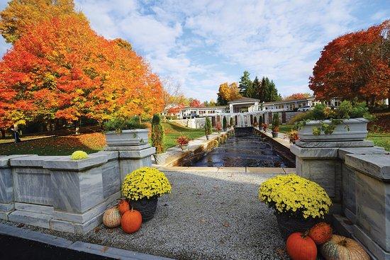 Lenox, MA: The Pavilion in autumn.