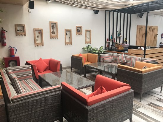 Dastaan a progressive affair comfy seating and nice interiors of the restaurant