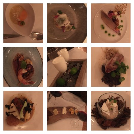 hier het all in arrangement langs kleine diverse culinaire seizoens gebonden gerechten