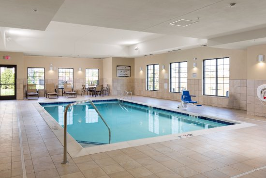 Heated Indoor Pool Picture Of Staybridge Suites Columbus Polaris Columbus Tripadvisor