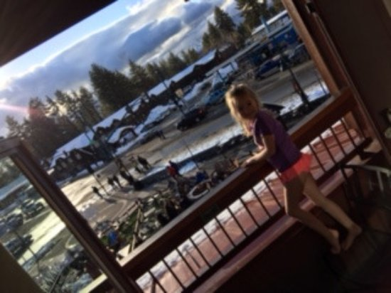 Grand Residences by Marriott, Tahoe - 1 to 3 bedrooms & Pent.: view from our room
