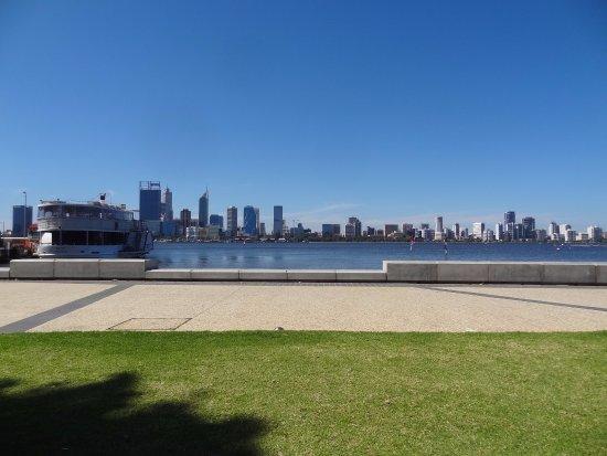South Perth, Australia: View of CBD