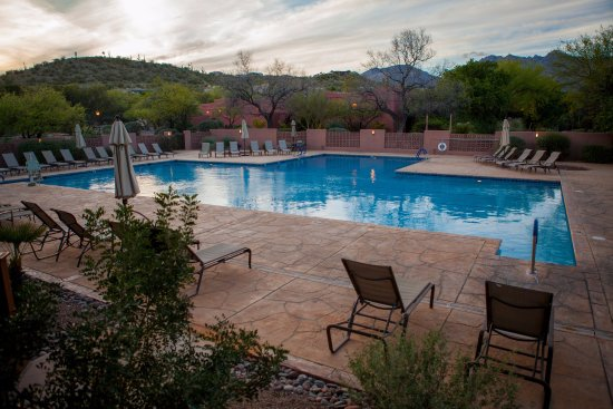 Canyon Ranch in Tucson: The T-Pool.