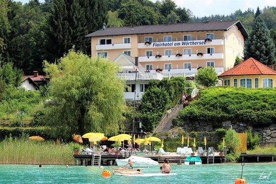 Flairhotel am Woerthersee : Flairhotel am Wörthersee  Velden-Auen