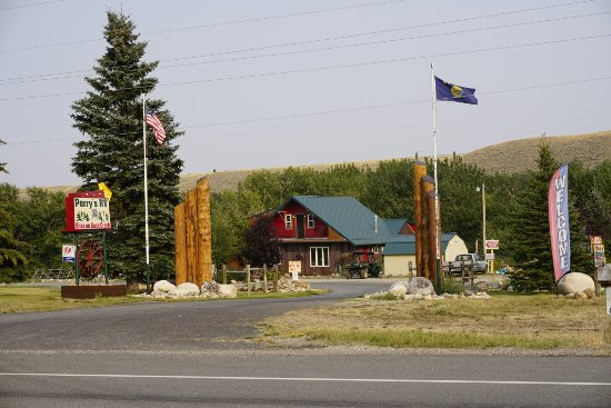 Red Lodge, Μοντάνα: Welcome to Perry;s Campgrounds