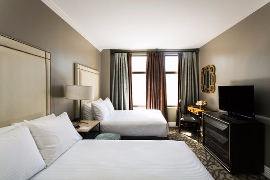 Hotel Bijou: Recently Renovated Two Double Beds