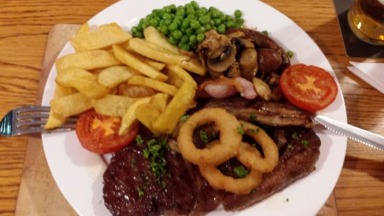 Stowmarket, UK: This Mixed Grill was perfectly cooked, piping hot and a very generous portion.