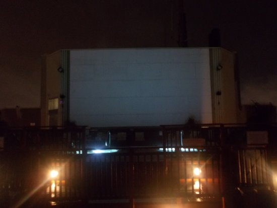Grand Hotel & Suites: Blank screen on rooftop