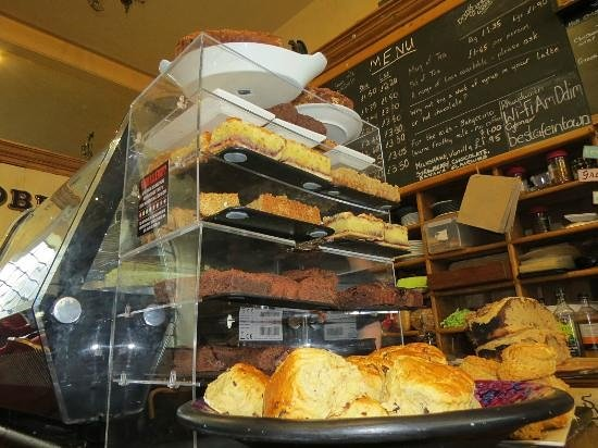T H Roberts Coffee Shop : The Home Made Pies and Cakes are genuinely amazing¬
