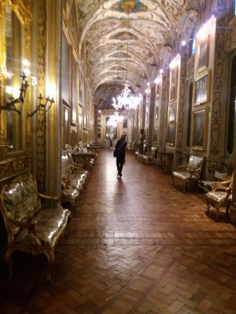 Palazzo Doria Pamphilj: Imponente galería