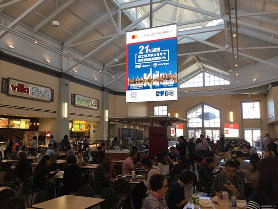 8777e68fed73 Food court   San Francisco Premium Outlets. - Picture of San ...