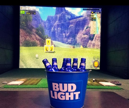 Swing Zone Golf: We serve a variety of alcoholic and non alcoholic drinks