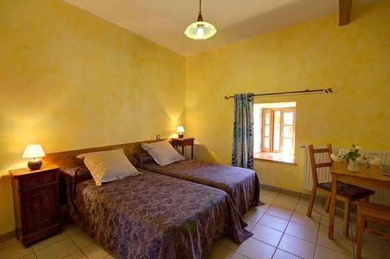 Saint-Bonnet-le-Courreau, Frankrike: chambre 2 lits 90 avec sanitaires privatifs ,53€ la nuit pour 2 personnes avec petit déjeuner
