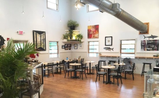 Tuckerton, NJ: The cafe showcases high quality, handcrafted good from local & regional artists.