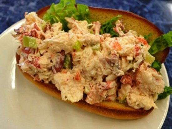 Wooster, OH: House Lobster Roll with real lobster meat add your choice of two sides for the perfect meal.