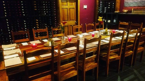 New Buffalo, MI: our private wine room