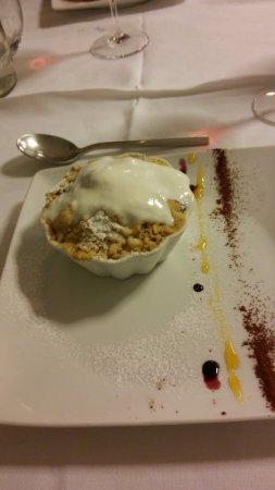 Ледро, Италия: scramble di patate viola