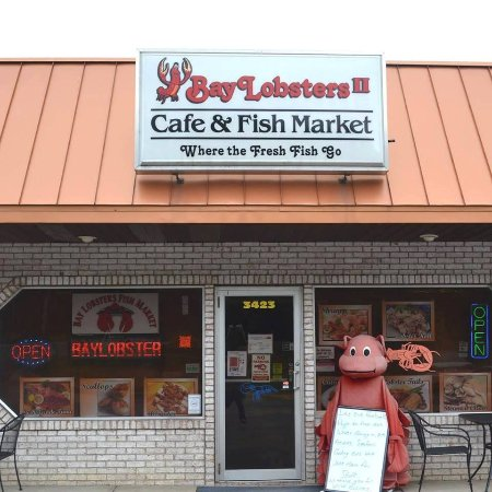 Wooster, OH: Welcome to BayLobsters Cafe & Fish Market...where the fresh fish go!