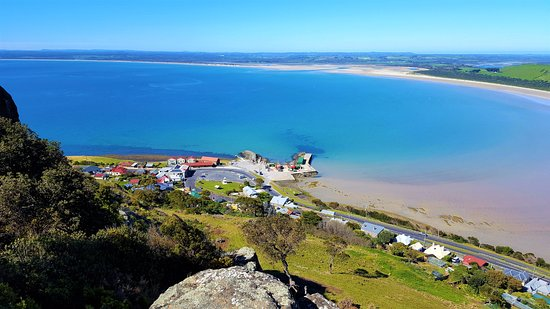 Stanley, Australië: View from The Nut