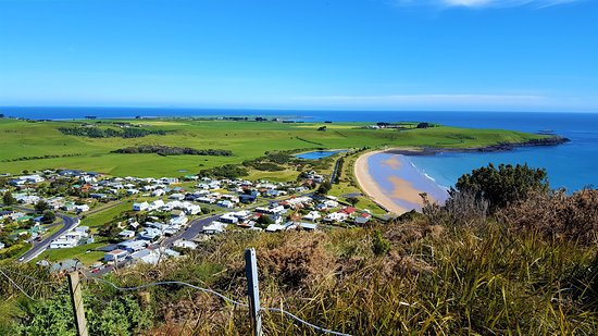 Stanley, Australia: View from The Nut