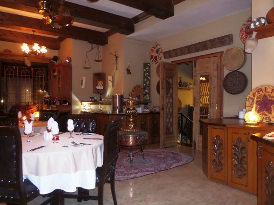 Almond Holiday Village: From the dining room