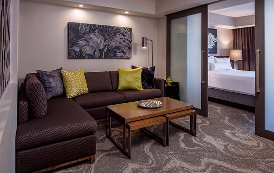 Westin Oaks Houston at the Galleria: Coming Soon: Executive King Bed Suite Living Room Area