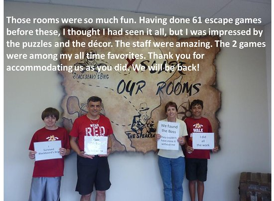 St Augustine Escape Room
