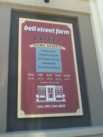 Los Alamos, Californien: welcome to bell street farm eatery