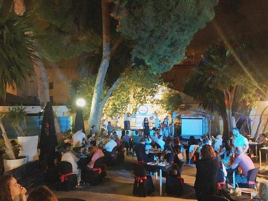 Terraza De Verano Picture Of Finca Campoamor Alicante