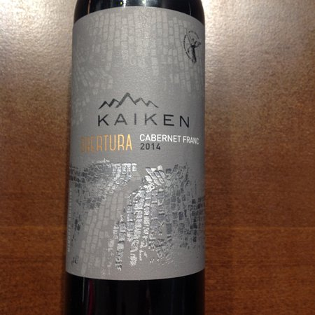 Kaiken Winery: vinho