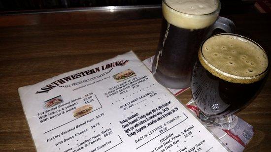 Northwestern Lounge - Brown St - Rhinelander WI - Hodag Country - Coldest Beer in Town