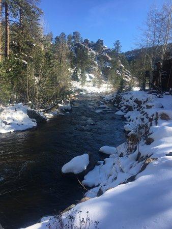 Boulder Brook on Fall River Image