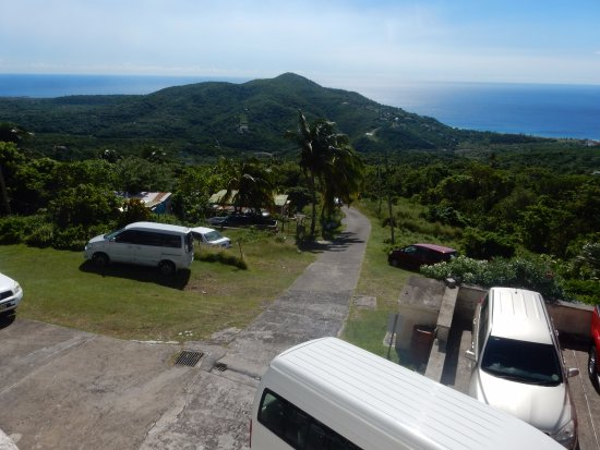 Montserrat Volcano Observatory: MVO Driveway and Parking Area