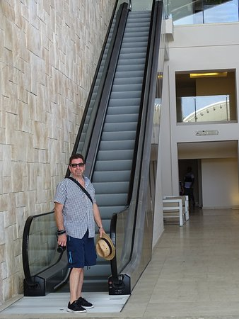 Cap Estate, St. Lucia: only hotel on island with escalator !!