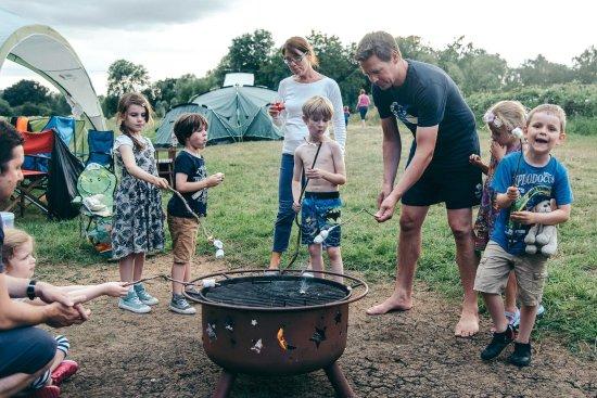 East Bergholt, UK: Family Camping