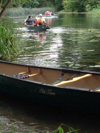 East Bergholt, UK: Stour Canoeing (Suffolk)