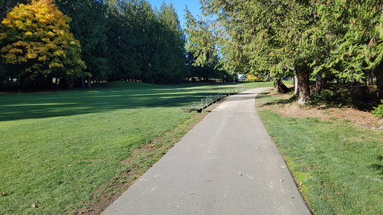 Cobble Hill, Canada: Nice fairway conditions for late October