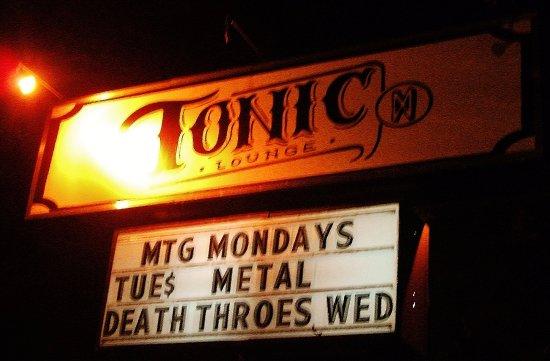 Tonic Lounge Portland