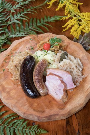 Grosuplje, Eslovenia: Winter plate