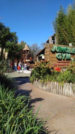 Nashville Zoo: Children's play area