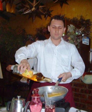 La Casa del Mole Poblano: table side dessert