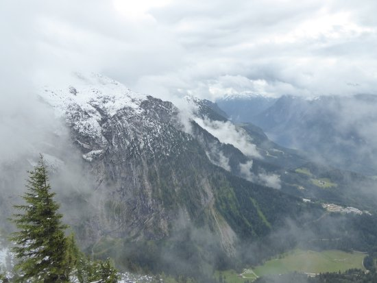 The Eagle's Nest: looking across the valley