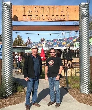 Petaluma, CA: Craig and Ross at Lagunitas.