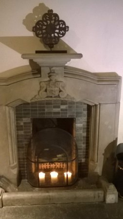 Banknock, UK: one of the many fireplaces